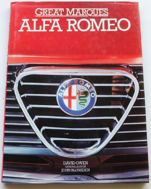 GREAT MARQUES ALFA ROMEO (Owen 1985)